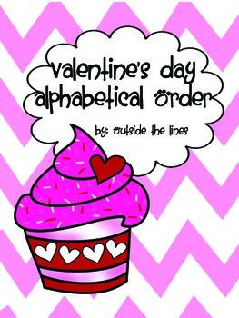 Valentine's Alphabetical Order