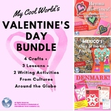 Valentines Around the World Bundle! Mexico, India, & Denmark plus a Bonus Craft!