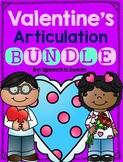 Valentine's Day Articulation: Speech Therapy Bundle