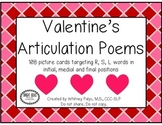 Valentine's Articulation Poems