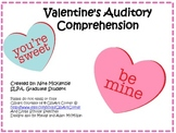 Valentine's Day Speech Therapy: Auditory Comprehension