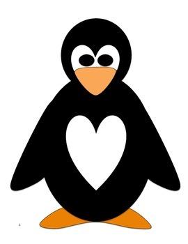 Valentine's Day Bag Penguin Pattern