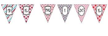 Valentines Banner- Be Mine