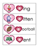 Valentines Beginning or Ending Sounds