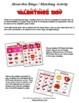 Valentines Bingo / Matching Activities