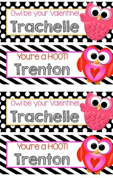 Valentines Bookmarks or Name Plate, EDITABLE, PERSONALIZED - gift, reward