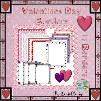 Valentine's Borders