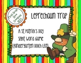 St. Patrick's Day Leprechaun Trap {Kindergarten Printable Sight Word Game}