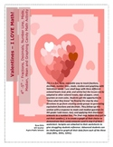 Valentines Candy Fraction Decimal Probability Activity