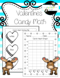 Valentines Candy Heart Graph Activity *Common Core Aligned