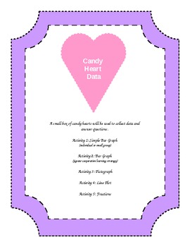 Valentine's Candy Heart Graphs Package