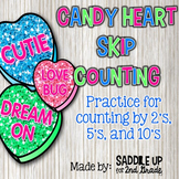 Valentine Skip Counting Puzzles