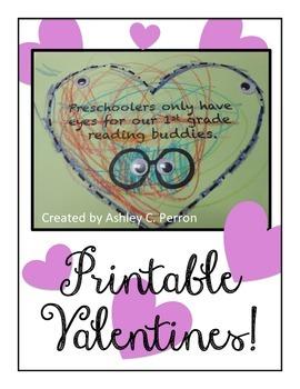 Valentine's Card--Freebie