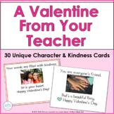Valentine Cards Teacher to Student