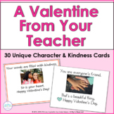 Valentine Cards from Teacher to Student