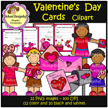 Valentines Cards (School Design)