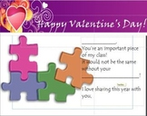 Valentine's Cards for Students