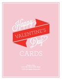 Valentine's Cards for Students/Staff
