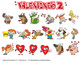 Valentines Cartoon Clipart Vol. 2