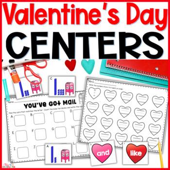 Valentines Centers for Kindergarten
