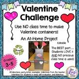 Valentine Activity - Valentine Container Project Creative Fun Valentine Holders