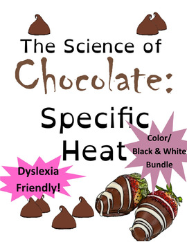 Valentines Chemistry: Specific Heat of Chocolate (AP Chemistry Resource) Bundle