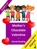 Valentines Choral Reading Literacy Lesson Plan for Grades 1-4