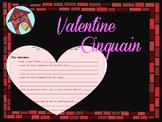 Valentine's Cinquain