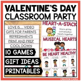 Valentine's Day Classroom Party Planning Pack