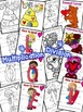 Valentines Color by Number Multiplication and Division Facts 0-12