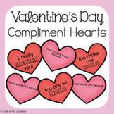Valentines Compliment Hearts | Kindness Activity for Valentine's Day