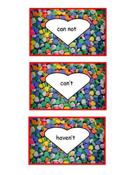 Valentine's Contraction Game