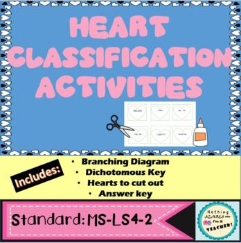 Hands-On Heart Classification Branching Diagram Activity and Dichotomous Key