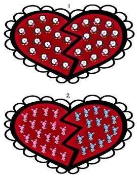"Valentine's ""Count and Compare"""