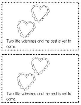 Valentine's Counting Poem Book