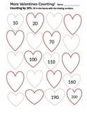 Valentines- Counting by 10's