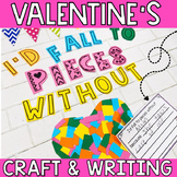 Valentines Craft and Writing Prompt