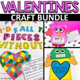 Valentines Craft Bundle | Owl, Robot, and Heart Craft