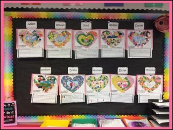 Valentines Writing Craftivity