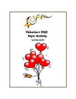 Valentine's DNA Paper Activity