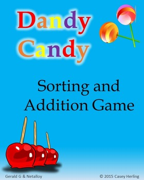 Valentine's Dandy Candy: Sorting & Addition Game