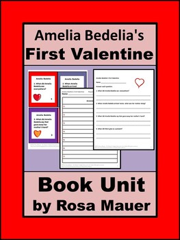 Amelia Bedelia's First Valentine Book Unit