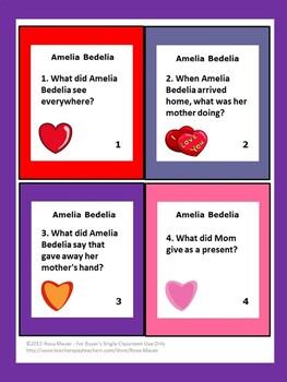 Amelia Bedelia's First Valentine Book Unit