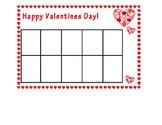 Valentines Day 10, 20 & 30 Frame Math Workmats