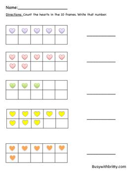 Valentines Day 10 Frames