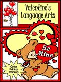 Valentine's Day ELA Activities: Valentine's Language Arts