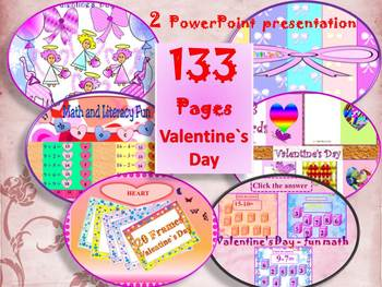 Valentine's  Day -  BUNDLE - Printables - PowerPoint prese