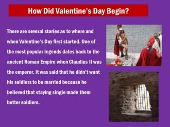Valentine's Day PowerPoint | Valentine's Day Lesson Activity