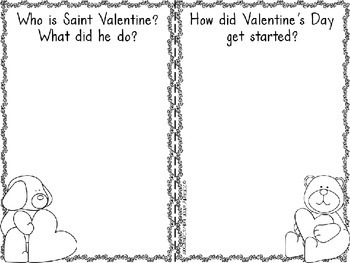 Valentine's Day Research Project