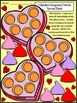 Valentine's Day Language Arts Activities: Valentine Compound Word Puzzles -Color